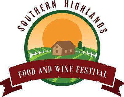 Southern Highlands Food & Wine Festival Logo Design