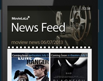 Movie Review app for Windows Phone