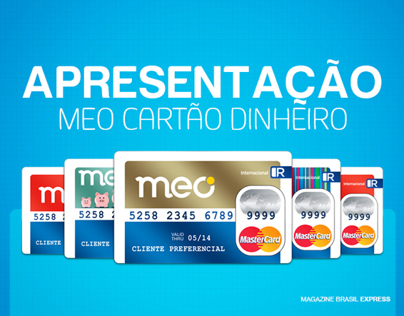 START UP MEO CARTÃO DINHEIRO