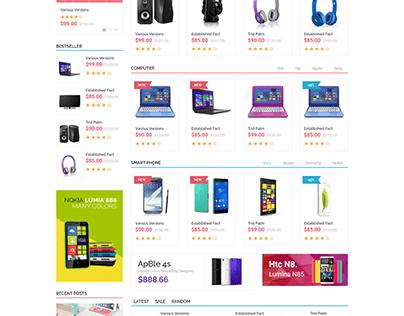 Malias - Electronics Shop eCommerce HTML Template