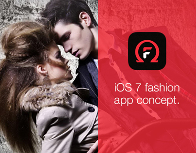 Omega Fashion iOS7 concept