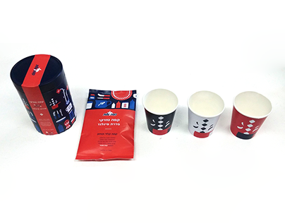 Finnish Coffee products illustration & design
