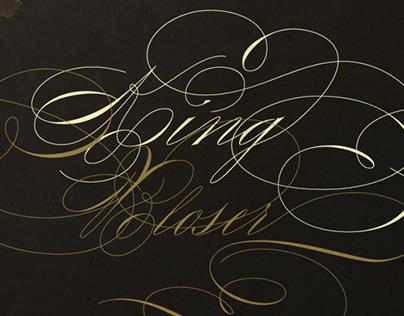 King Bloser Typeface