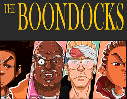 """The Boondocks"" sticker pack"
