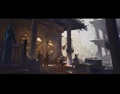game cinematic design