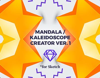 Kaleidoscope / Mandala Generator for Sketch ver.1