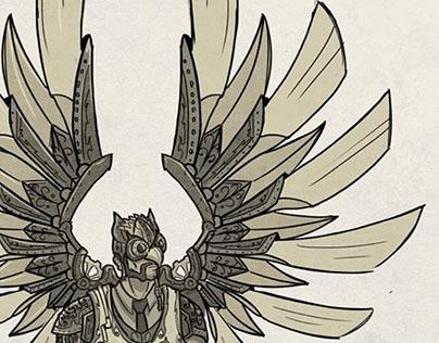 Steampunk Birdman
