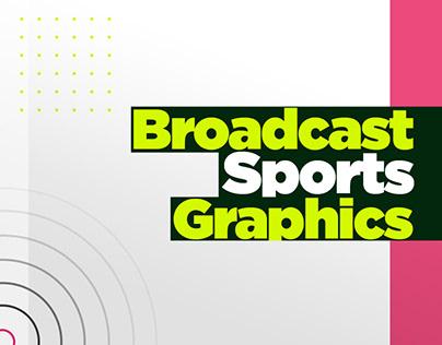 Broadcast sports graphics