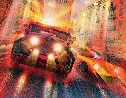 Poster for oldtimer cars