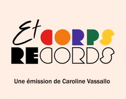 Générique Corps et Records - Handiplay
