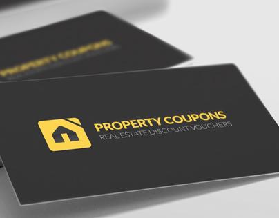 Property Coupons Logo & Brand Identity