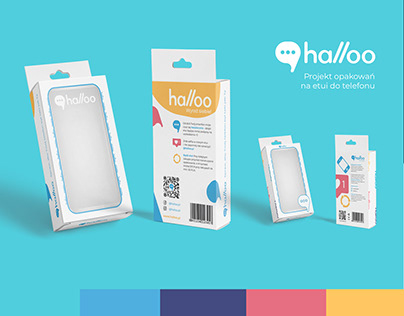 Opakowania dla Halloo // phone case packaging design