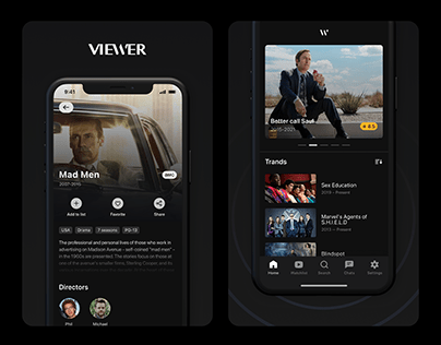 VIEWER App — Explore, rate and track TV series