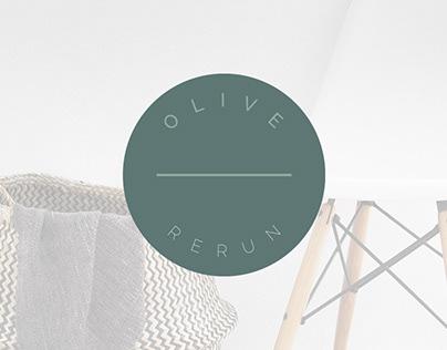 Pre-made Logo: Olive Rerun