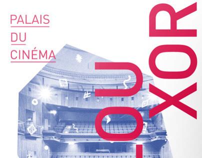 """Identité visuelle pour le Palais du Cinéma """"LE LOUXOR"""""""