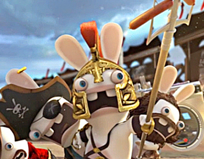 Raving Rabbids Travel In Time Commercial