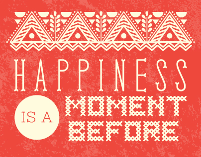 A Moment of Happiness Series