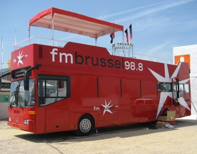 The FM Brussel Bus