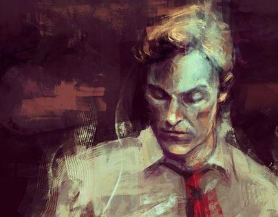 Digital painting - fan art part II