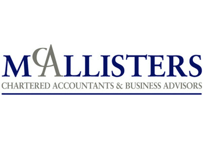 Brand Identity for McAllisters Chartered Accountants