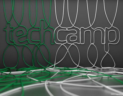 Poster designed for TechCamp technology conference