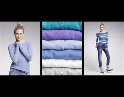KONEN Cashmere Fashion Shooting for Flyer