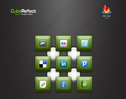 Old CubeReflect WordPress Theme (2009)