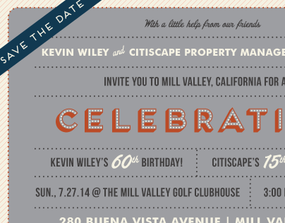 CitiScape Property Management Group | Save The Date