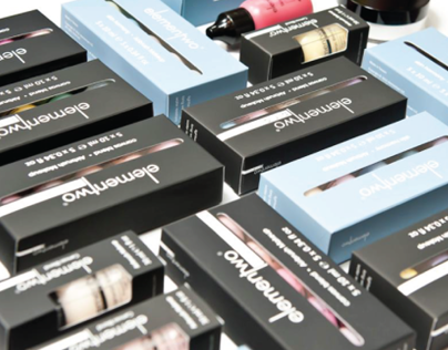 elementwo Cosmetics Branding