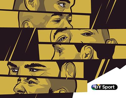 BT Sports - UFC200 Social Media Posters