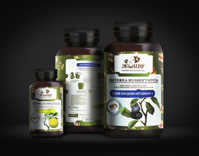 "Packaging design for ""EcoWorld Co"""