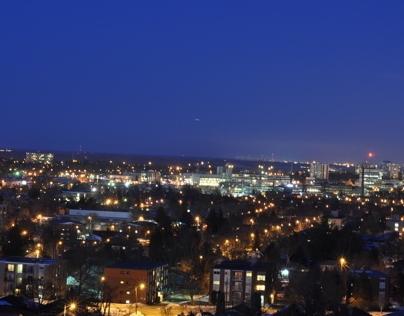 Kitchener/Waterloo @ Night