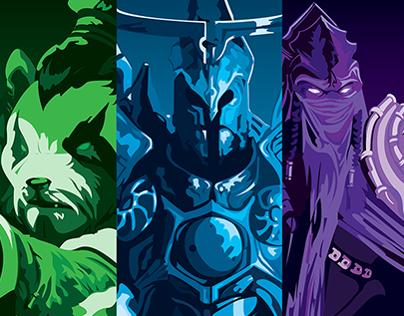 Blizzard Poster Design