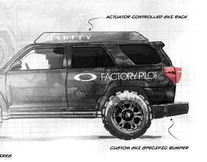 Oakley Toyota 2014 'Dream Build' Vehicle