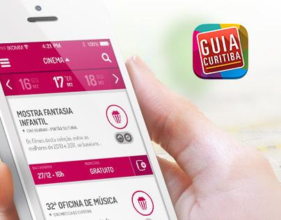 App Guia Curitiba Apresenta ::
