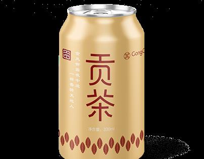 Gong Tea packaging