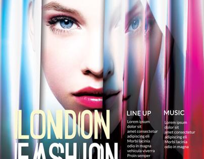 Contemporary Fashion Flyer Poster Vol. 2