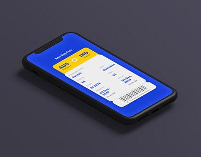 Flight app | Daily UI & UX