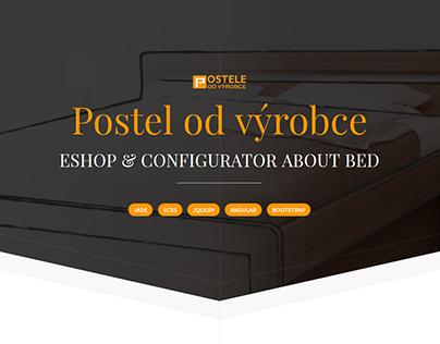 Postel od výrobce - Eshop & Configurator