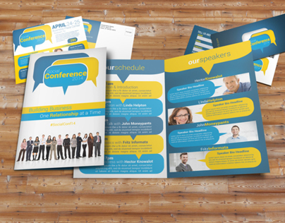 Social Conference Brochure Pack