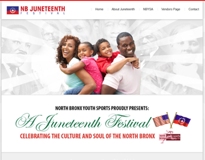NB Juneteenth Website