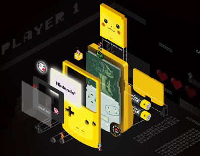 Game Boy Parts