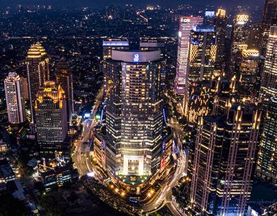 The Ritz Carlton Jakarta Pacific Place - Aerial Photos