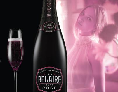 E1even11 and Luc Belaire promo ad