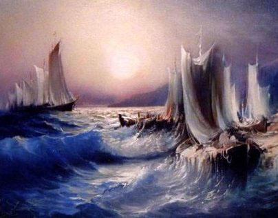 my old oil paintings