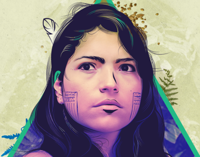POSTER • TRIBUTE TO COLOMBIAN WOMEN