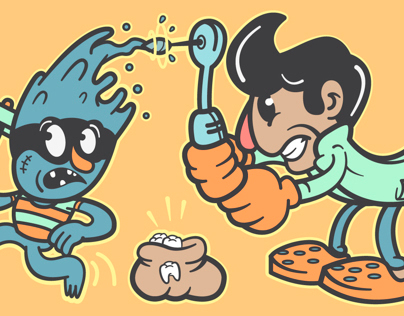 Dentist Toon Characters