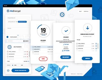 WeEncrypt | Webdesign & Logo