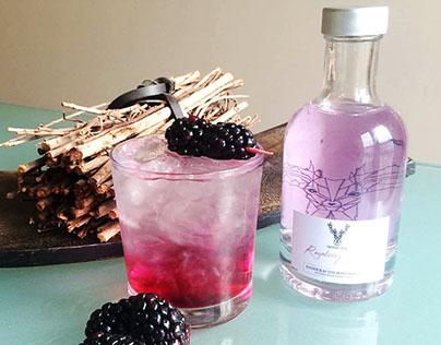 'Crystal Stag' gin || Branding Design