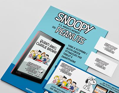 Advertising - Peanuts eBook comics